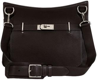 One Kings Lane Vintage Hermes Jypsiere Brown Togo Bag Unisex - Vintage Lux
