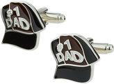 Link Up Enameled #1 Dad Ball Cap Cuff Links