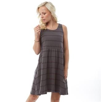 Animal Womens Poppie Jersey Dress Magnet Grey