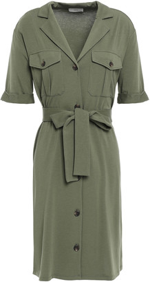 Joie Jersey Mini Shirt Dress