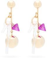 Colville - Cluster Ball-drop Earrings - Womens - Gold