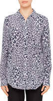 Equipment ESSENTIAL ELECTRIC LEOPARD PRINT SHIRT