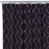 Bed Bath & Beyond Wellington 72-Inch x 96-Inch Shower Curtain in Black/White