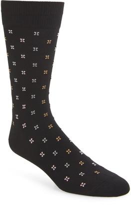 Nordstrom Microprint Ultrasoft Socks