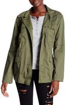 Joe Fresh Shrunken Solid Parka Jacket
