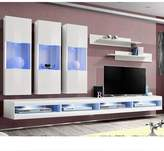 Orren Ellis FLYE2 Floating Entertainment Center for TVs up to 70 inches Orren Ellis Color: White