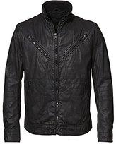 Rogue Men's Waxy Carbon Coated Cotton Moto Jacket