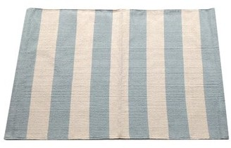 Artim Home Textile Widestripe Metal Area Rug Artim Home Textile Rug Size: 2' x 3'