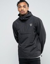 New Era Overhead Jacket With Raiders Logo