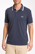 BOSS GREEN Men's 'Paddy' Modern Fit Golf Polo