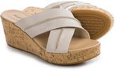 Hush Puppies Belinda Durante Wedge Sandals - Leather (For Women)