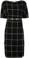 Lanvin boat neck dress