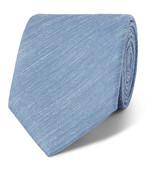 Charvet 7.5cm Mélange Slub Silk and Linen-Blend Tie