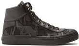 Jimmy Choo Argyle Camouflage-jacquard High-top Trainers