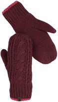 The North Face Cable-Knit Mittens (For Women)