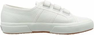 Superga Women's 2750-lea3velu Trainer Shoes - White (White) 7 UK