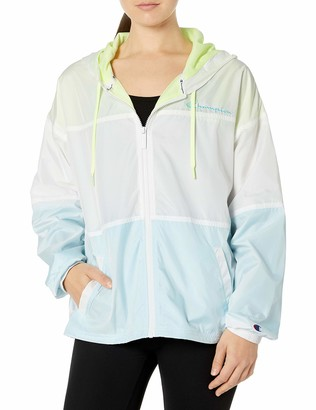 Champion Women's Stadium Colorblocked Windbreaker