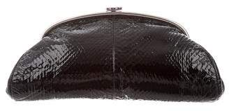 Chanel Python Timeless Clutch