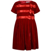 Rachel Riley Rachel RileyGirls Red Velvet Bow Dress