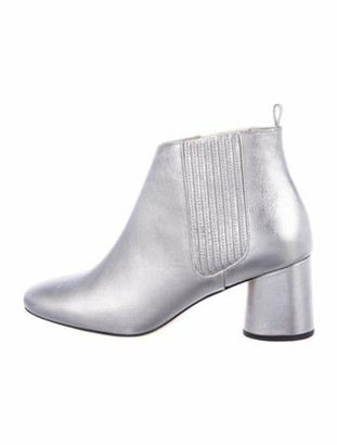 Marc Jacobs Patent Leather Boots w/ Tags Metallic