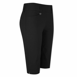 Callaway Ladies Pull-On City Shorts in Caviar-Small