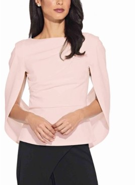 Adrianna Papell Cape-Back Top