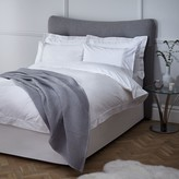 John Lewis & Partners Crisp and Fresh Rome Embroidered Cotton Bedding, White