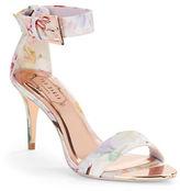 Ted Baker Blynne Floral Open-Toe Sandals