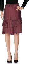 ERIKA CAVALLINI Knee length skirts