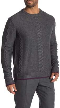 Robert Graham Fulton Crew Neck Knit Sweater