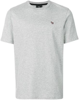 Paul Smith zebra-patch crew-neck T-shirt