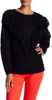 Trina Turk Lilee Long Sleeve Merino Wool Sweater