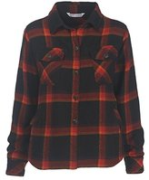 Woolrich Women's Oxbow Bend Chunky-Flannel Shirt