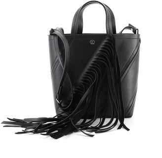 Proenza Schouler Hex Fringe Tote Leather Small