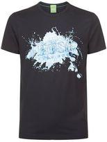 BOSS GREEN Splash Logo T-Shirt