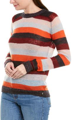 Scotch & Soda Striped Mohair & Wool-Blend Sweater