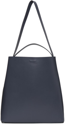Aesther Ekme Blue Square Tote Bag