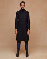 Jigsaw Modern Wool Military Coat