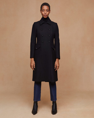 Jigsaw Modern Wool Military Coat