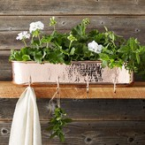 Copper Planter with Hooks
