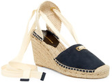 Diane von Furstenberg Marcelle Lace-Up Espadrille Wedge