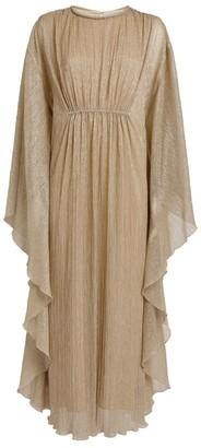 Jonathan Simkhai Farrah Lame Kaftan Dress
