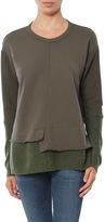 SALE Wilt Big Sweatshirt with Sweater Panels