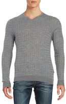 Strellson Textured Wool Sweater
