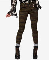 Sanctuary Admiral Camo-Print Skinny Jeans