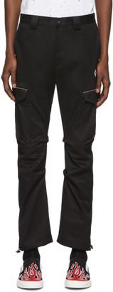 Marcelo Burlon County of Milan Black Cross Cargo Pants