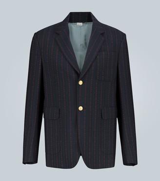 Gucci Wool-blend monogram G blazer