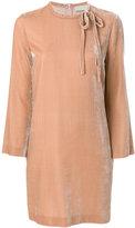 L'Autre Chose velvet mini dress
