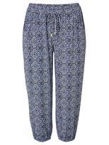 Jeanswest Karla Printed Jersey 3/4 Pant-Multi-XS