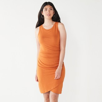 Nine West Women's Tulip-Hem Sleeveless Dress